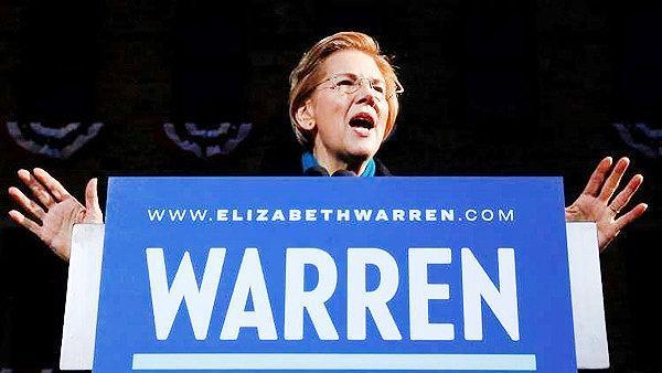 الیزابت وارن رسما نامزد انتخابات ریاست جمهوری آمریکا شد