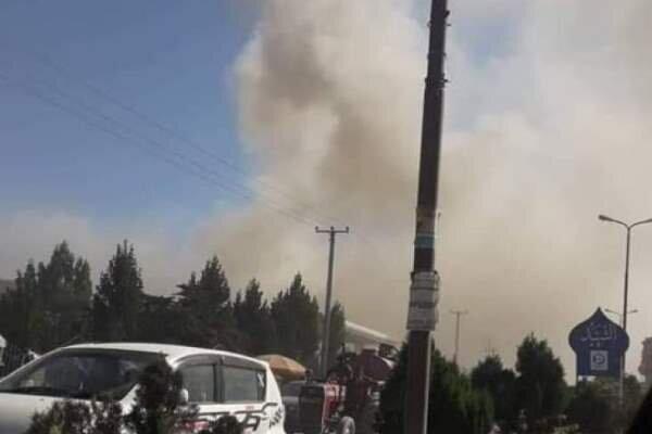 انفجار قوی در مرکز ولایت پکتیا در افغانستان