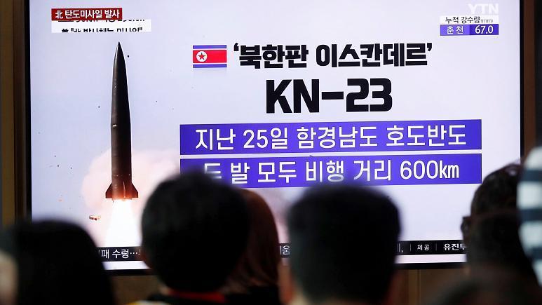 دومین آزمایش موشکی کره شمالی در یک هفته