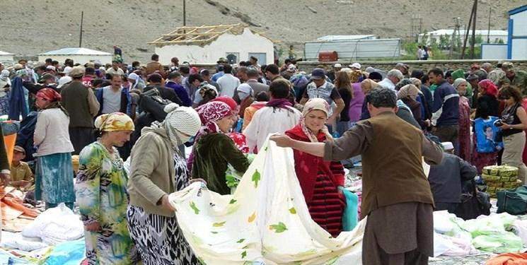 فعالیت بازار مرزی بدخشان تاجیکستان و افغانستان از سر گرفته شد