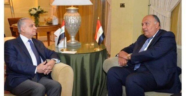 روابط دوجانبه موضوع گفت وگوی تلفنی وزرای خارجه مصر و عراق