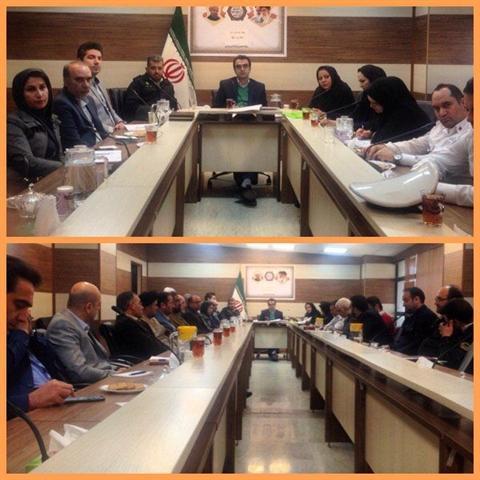 جلسه ستاد خدمات سفر در شهرستان پردیس برگزار شد