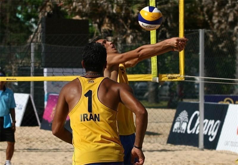 راهیابی تیم والیبال ساحلی ایران به جمع 8 تیم برتر